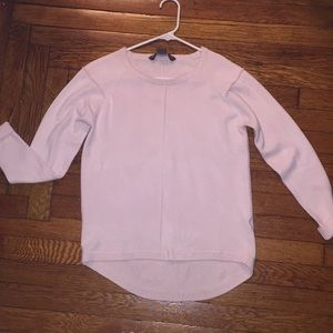 French connection pale pink sweater